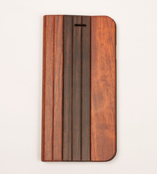 Rose Wood with padauk Iphone 6 case