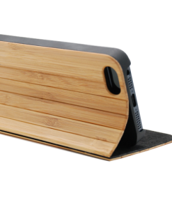 Bamboo Wooden wallet case iPhone