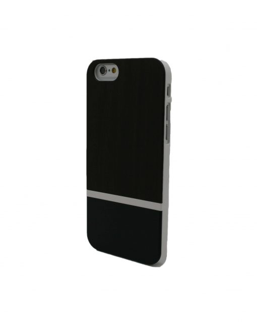 Iphone Case Padauk Wooden Black Stripe
