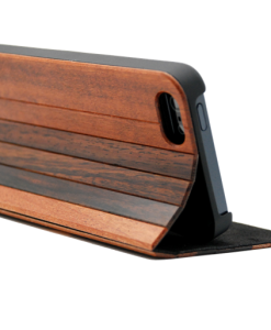 Rose and Padauk Wooden wallet case iPhone
