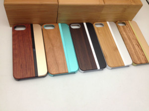 Different types of wood phone cases
