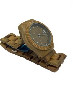 Green Sandalwood Wooden watch side