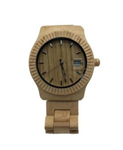 Light Maple Wooden Watch