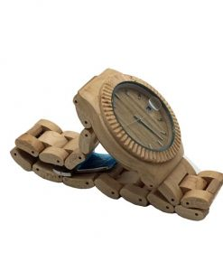 Light Maple Wooden Watch Side